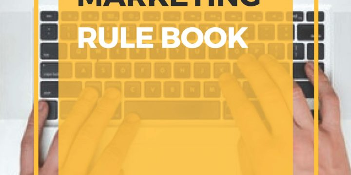Email Marketing:  Where's the Email Marketing Rule Book?